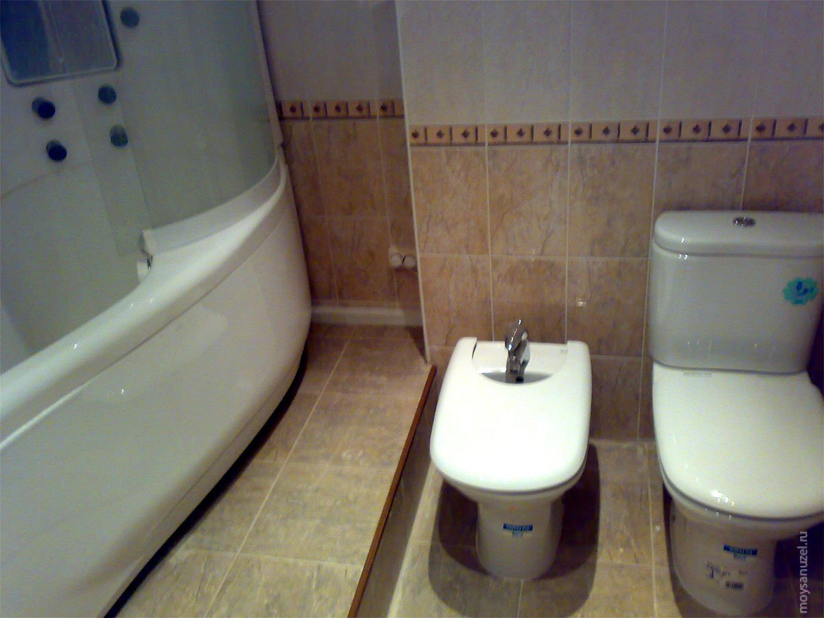 ванная и туалет