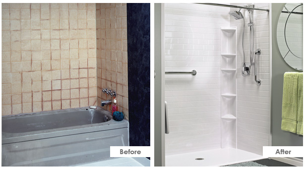 ванная комната до и после
