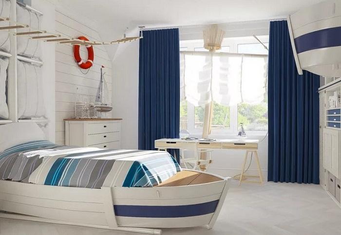 Дизайн в морском стиле