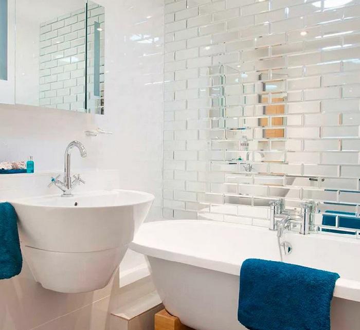 Дизайн ванной материалы