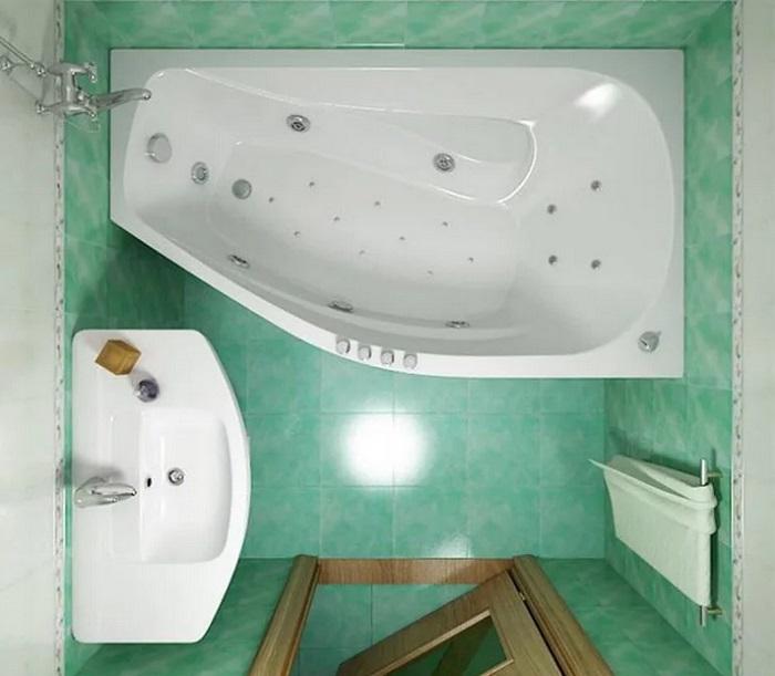 Дизайн ванной планировка