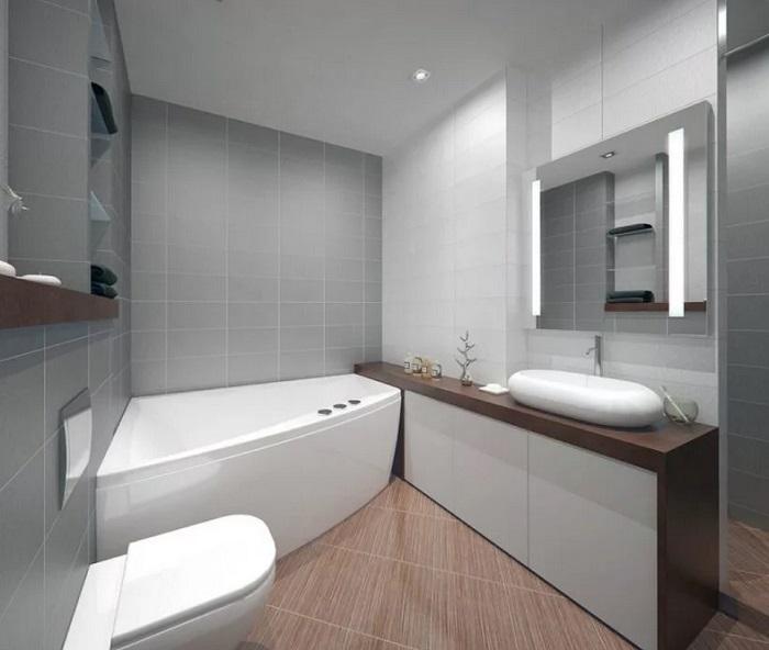 Дизайн ванной стиль