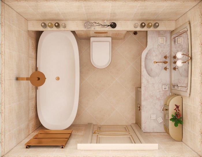эргономика ванной