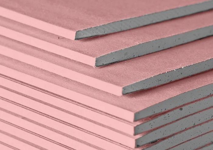 гипсокартон розовый