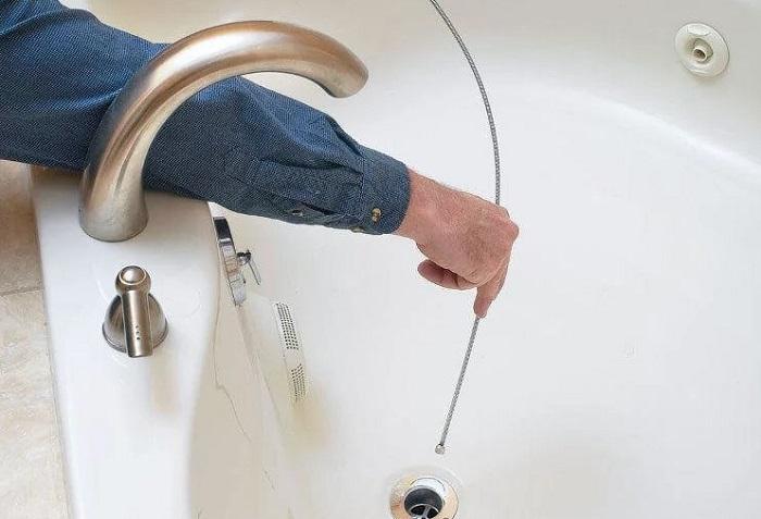 Как прочистить ванну