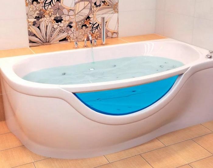 как выбрать акриловую ванну в ванную комнату