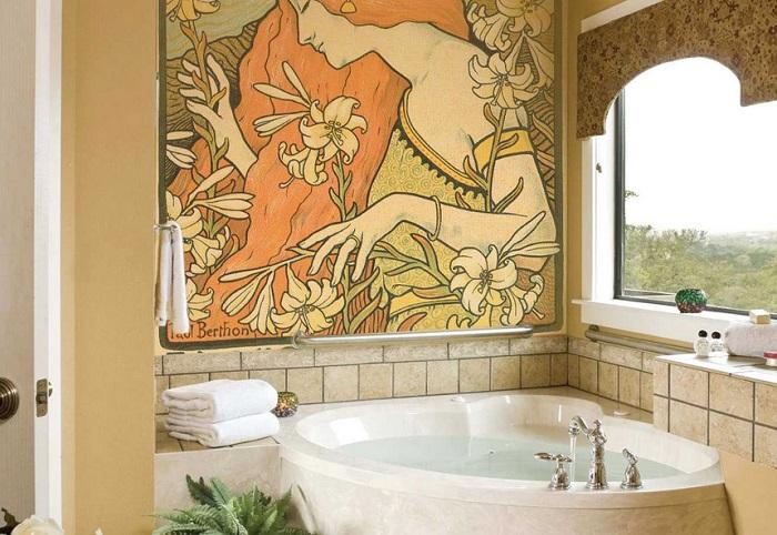 картины в ванной