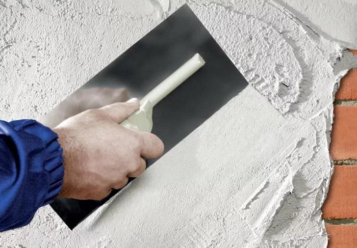 оштукатуривание стен в ванной