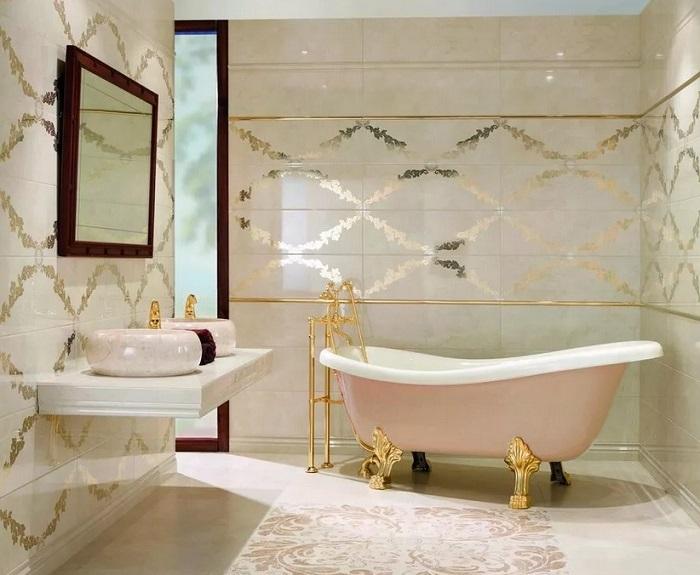 Отделка плиткой ванной