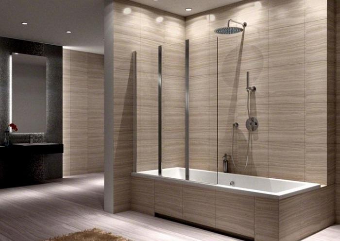 перегородки в ванной