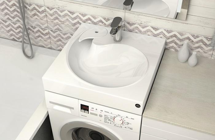 раковина под стиральную машину