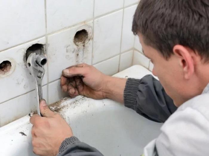 ремонт ванной комнаты без слома сантехкабинки
