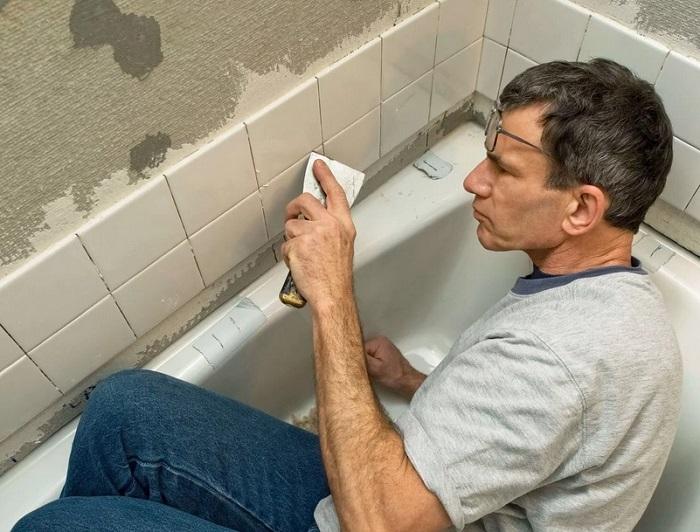 ремонт в хрущевке в ванной комнате