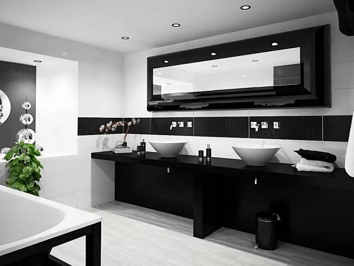 ремонт ванной черный