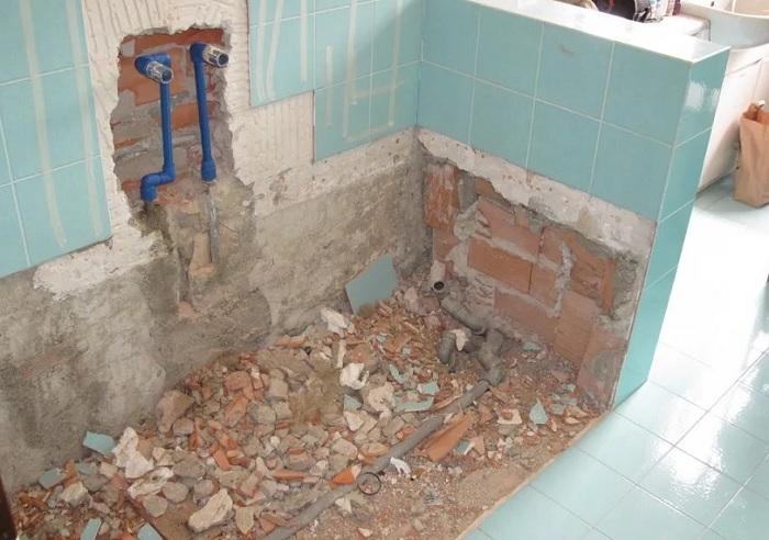 Ремонт ванной самостоятельно