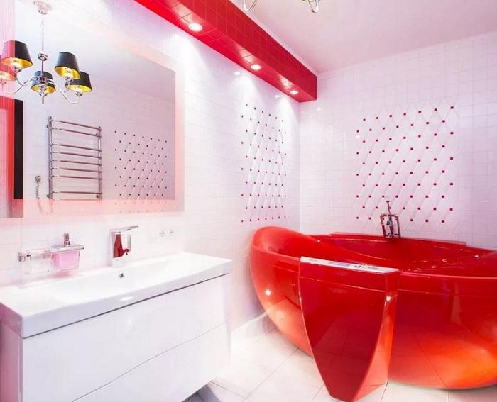 ремонт ванной красный