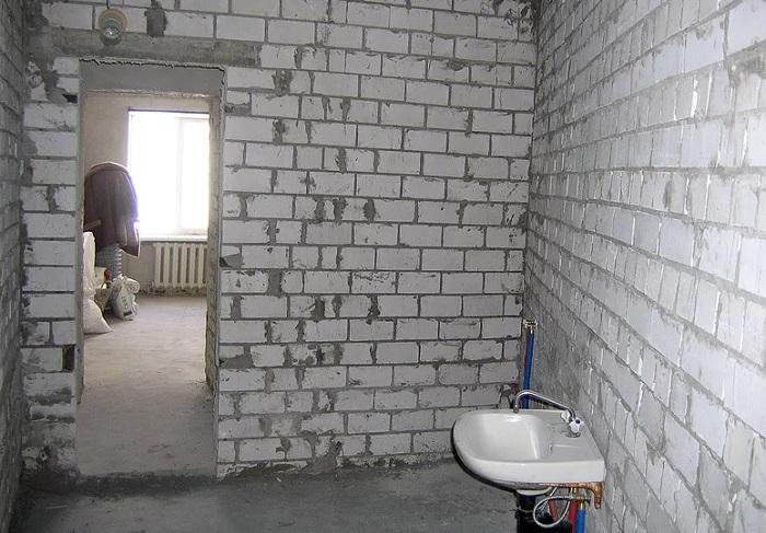 Ремонт ванной комнаты в новостройке в Москве