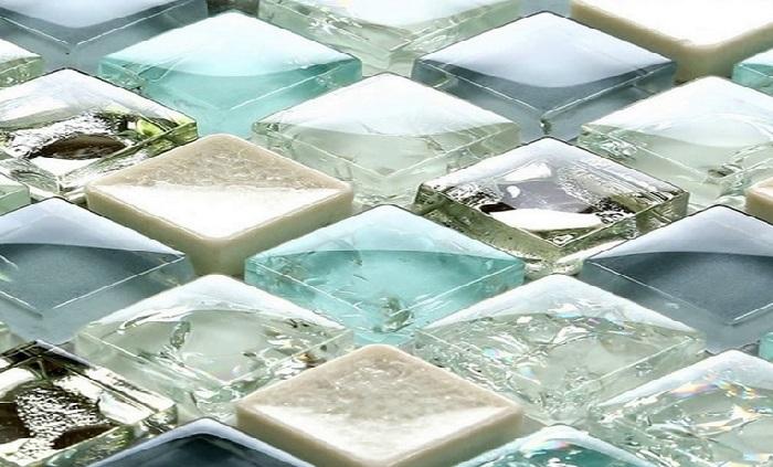 Стеклянная мозаика ванная