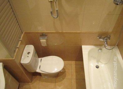 ремонт туалета в москве