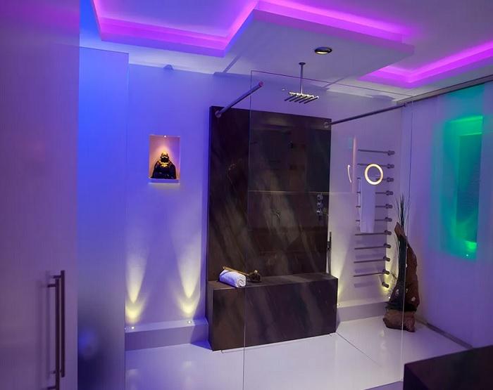 Светодиодное освещение в санузле