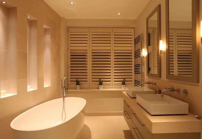 ванная свет