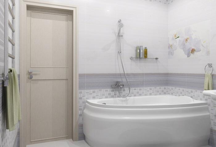 ванная светлая