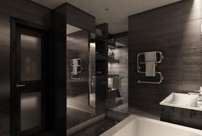 ванная темная