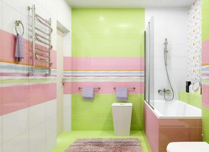 ванная цвет