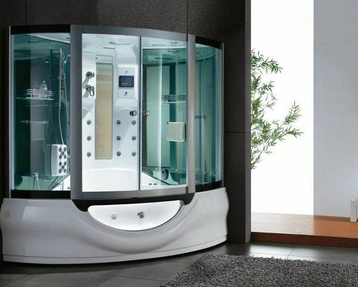 выбор душевой кабинки в ванной